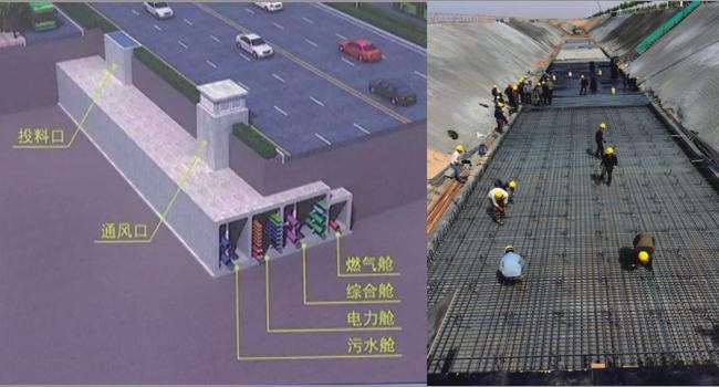 银川市滨河新区地下管廊项目
