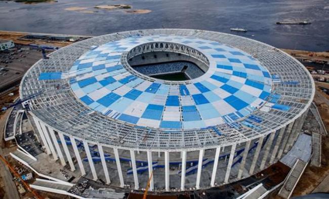 俄罗斯2018世界杯足球场馆建设